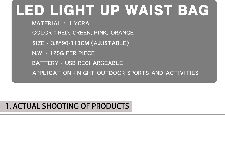 AIDI-Find Running Bum Bag Led Outdoor Sport Waist Bag For Night-1