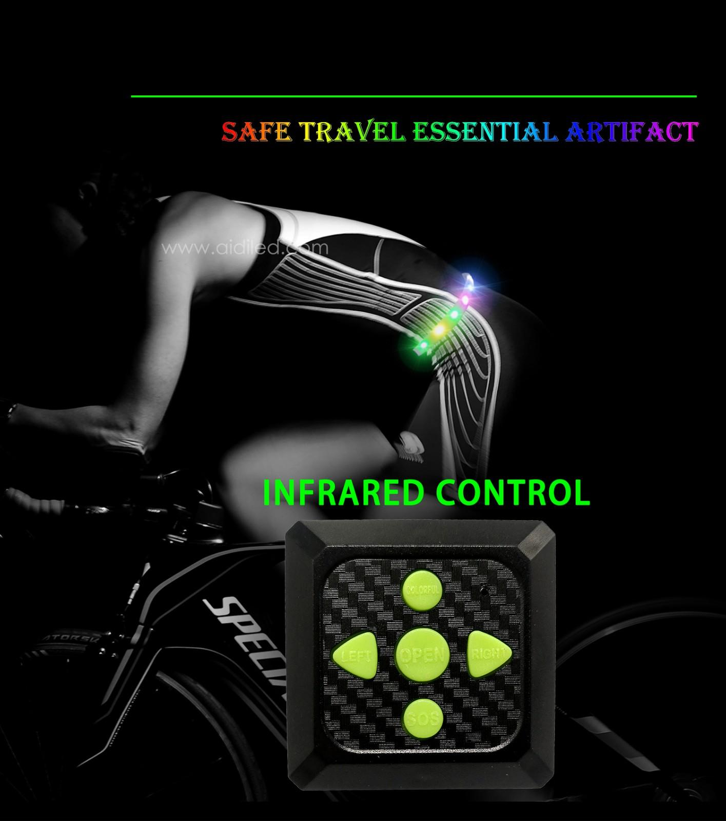 comfortable led waist belt customized for man