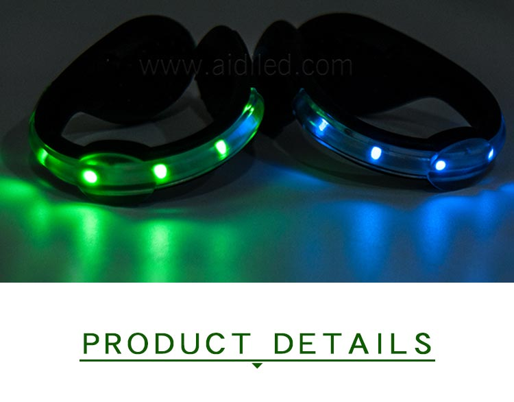 Led USB rechargeable clip on shoe light AIDI-S4-4
