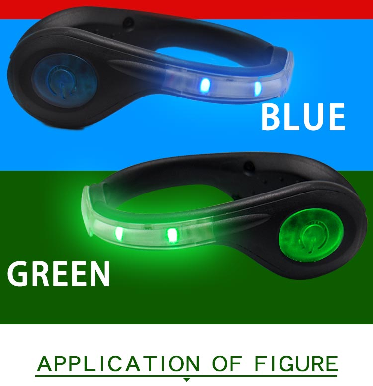 Led USB rechargeable clip on shoe light AIDI-S4-6