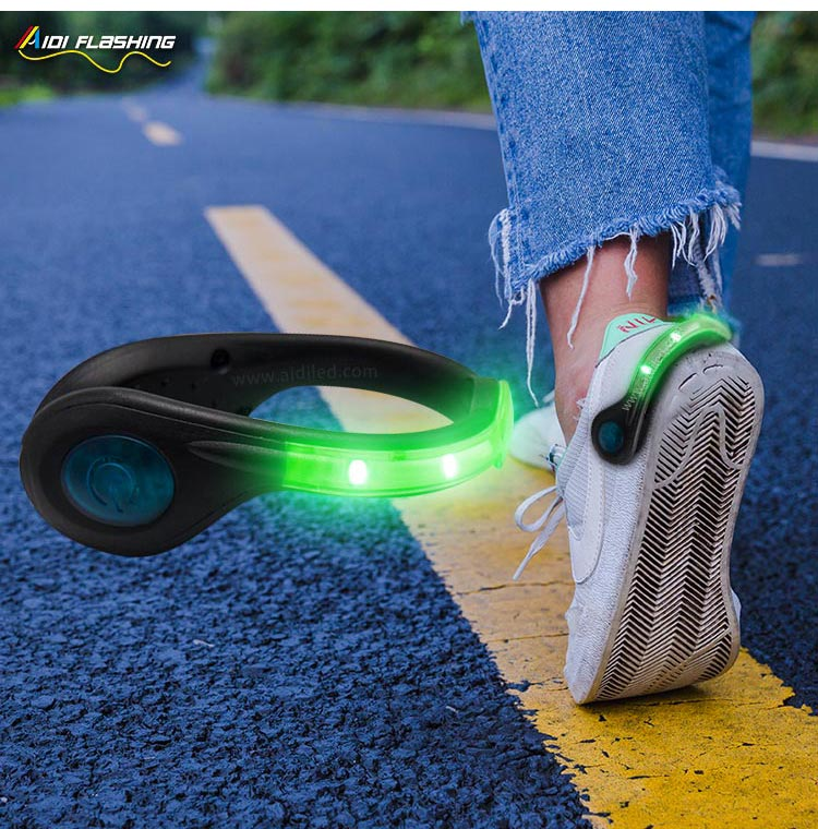 Led USB rechargeable clip on shoe light AIDI-S4-10