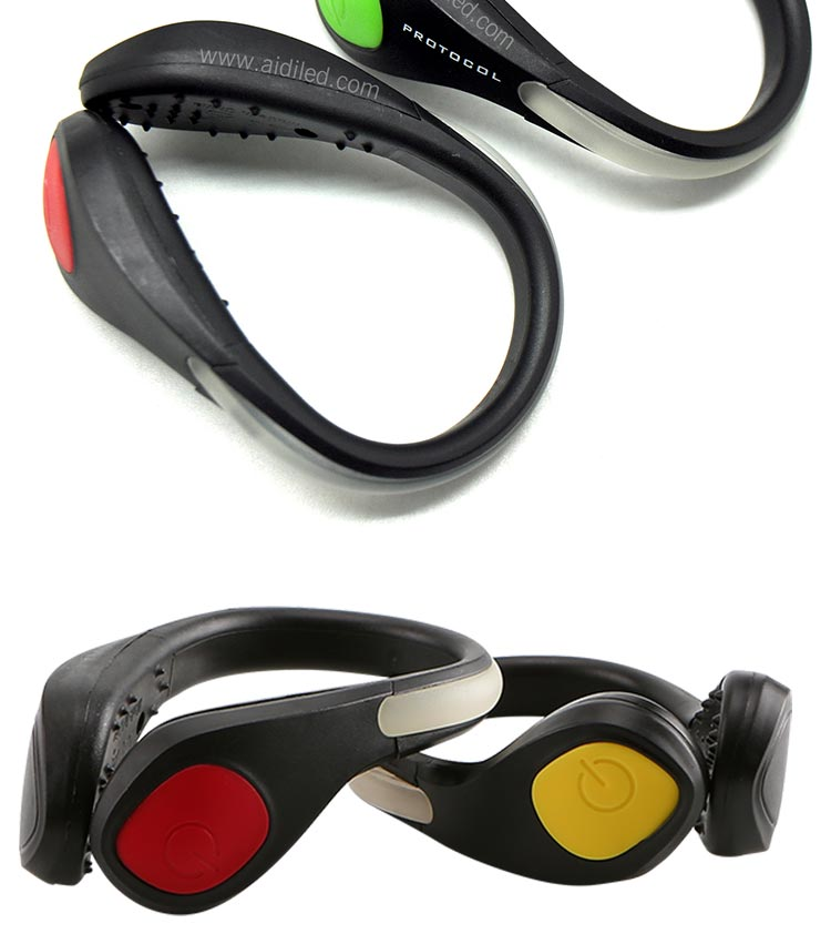 AIDI-Find Light Up Shoe Clips Led Safety Light Shoe Clip From AIDI-2