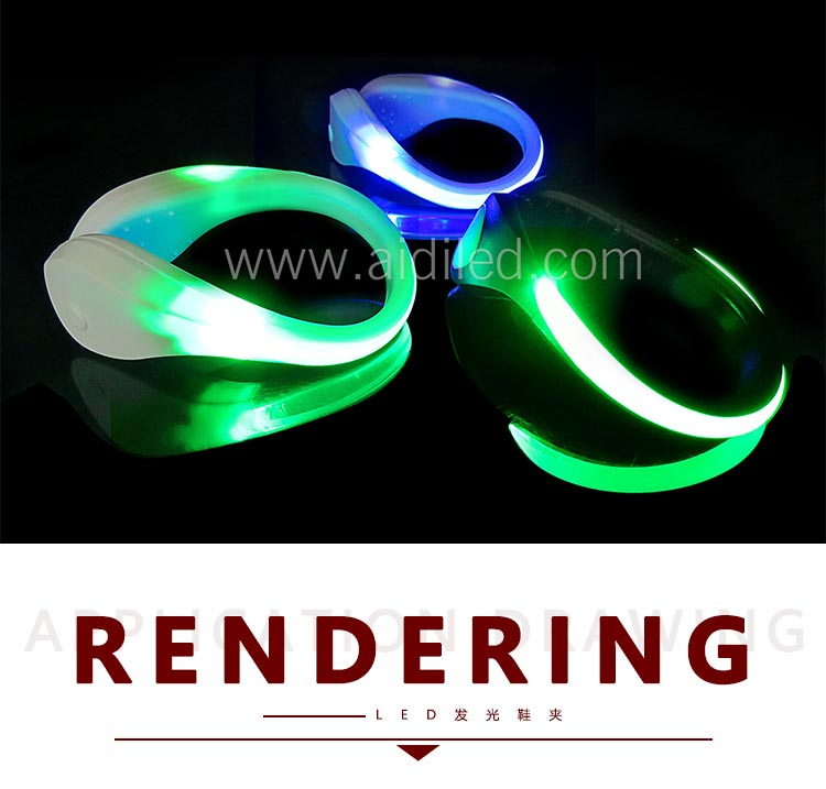 Led light up shoe clips (for children) AIDI-S2-6