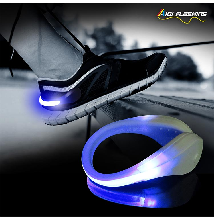Led light up shoe clips (for children) AIDI-S2-8