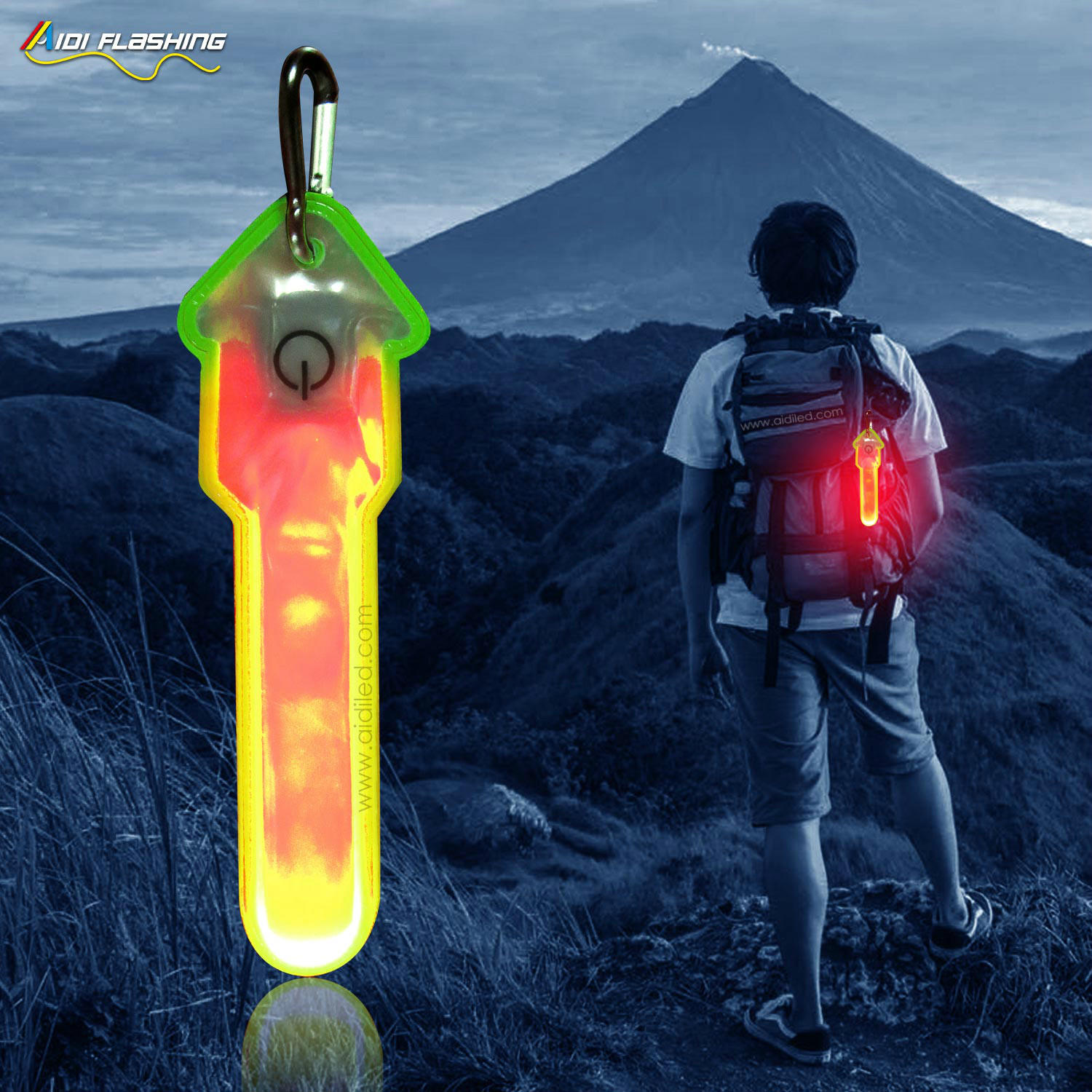 outdoor led safety night running light AIDI-S21