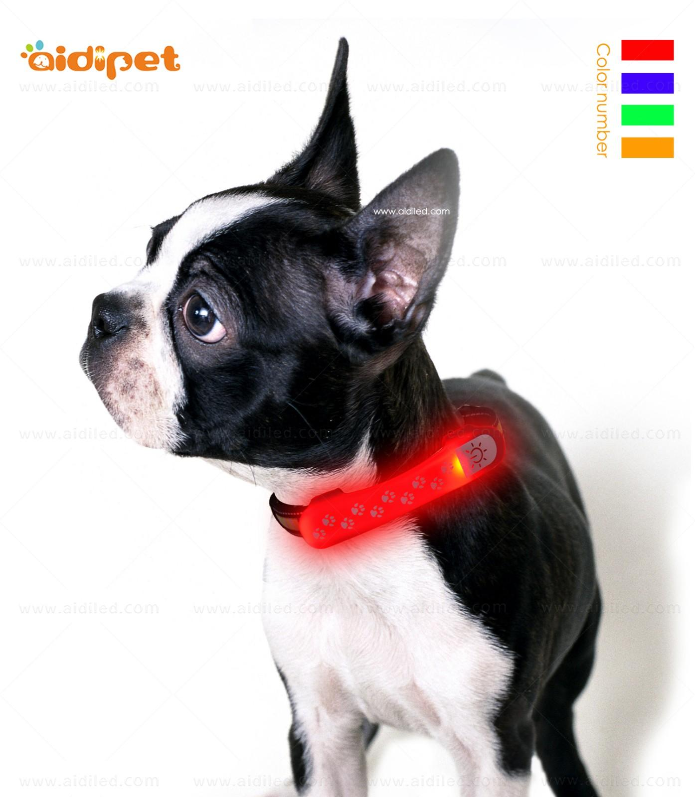 dog collar safety light for park AIDI-3