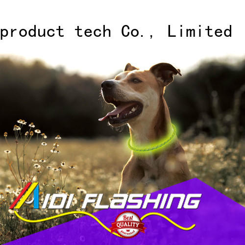 filament waterproof glow in the dark dog collar factory for outdoors AIDI