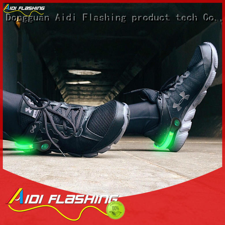 AIDI durable shoe safety clip light factory for sports