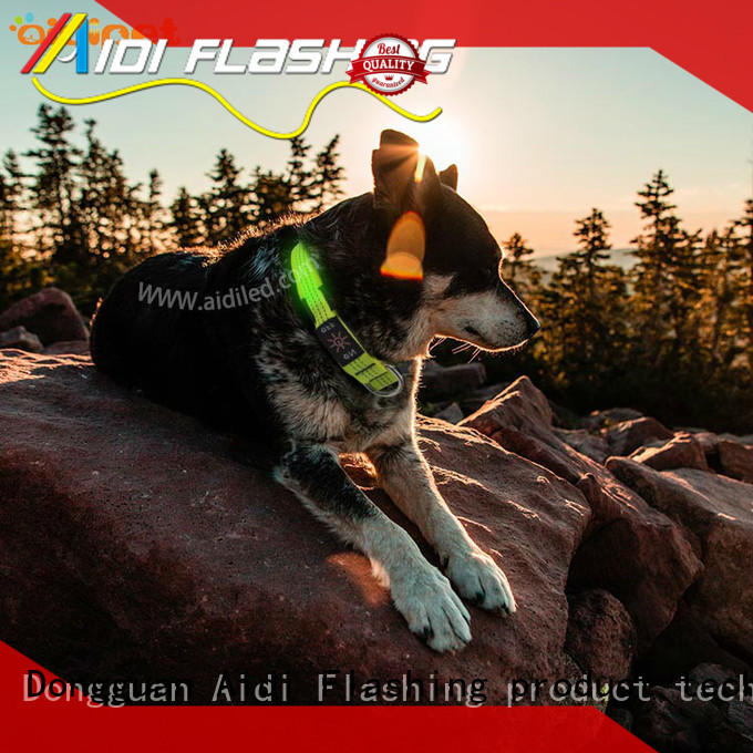 printing personalized reflective dog collars with good price for pet