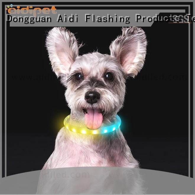 printing best led dog collar design for park