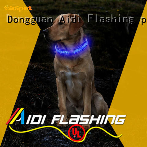 cover led dog collars flashing for walking AIDI
