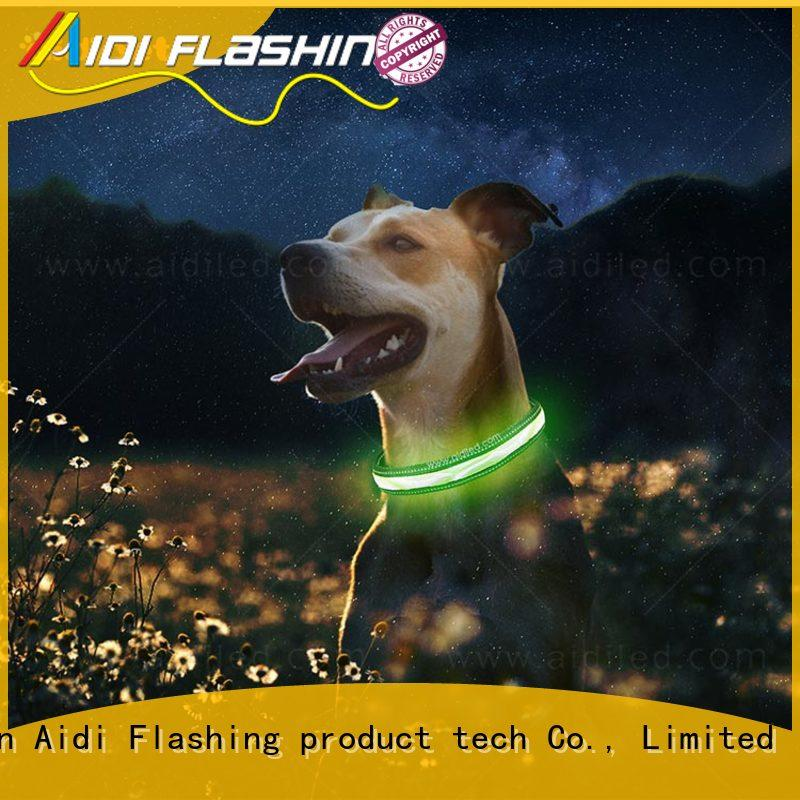AIDI filament led flashing dog collar inquire now for walking