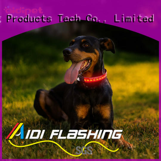 reflective led flashing dog collar inquire now for pet