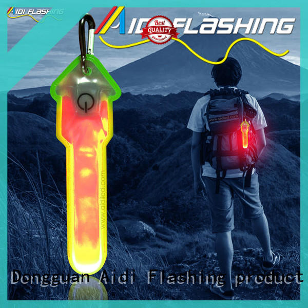 AIDI rechargeable lights for running in the dark for man