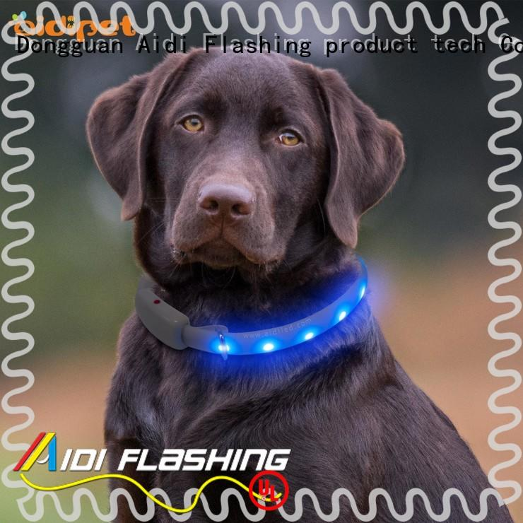 AIDI dog collar lights waterproof inquire now for outdoors