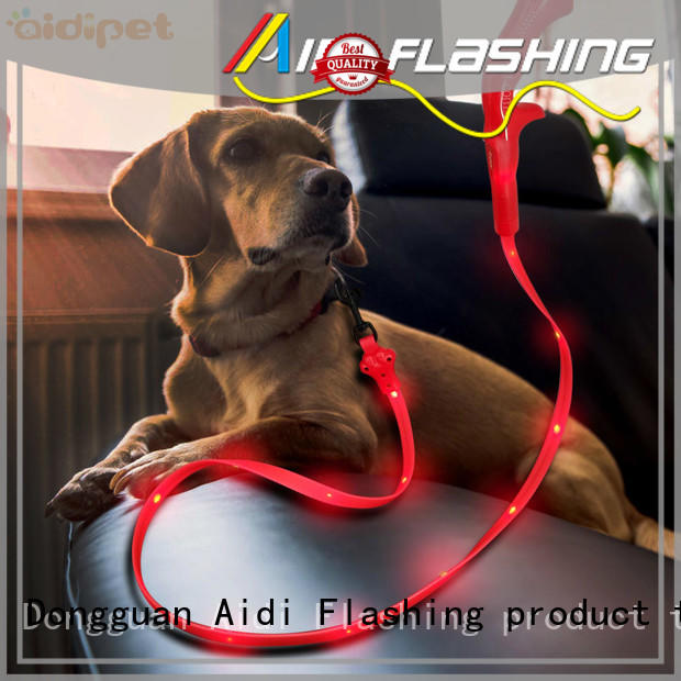 AIDI lighted dog leash with good price for park