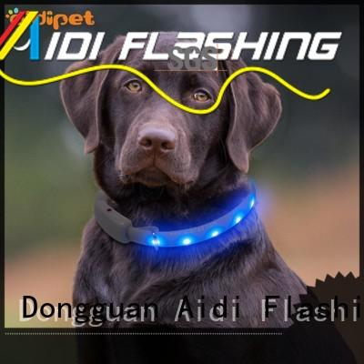 flashing glow in the dark dog collar inquire now for walking AIDI