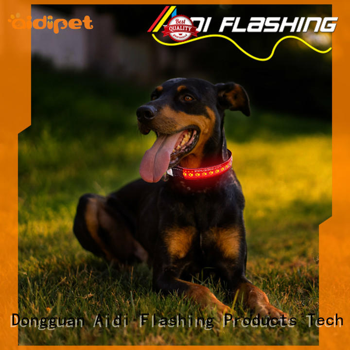 AIDI remote best dog collar light factory for outdoors