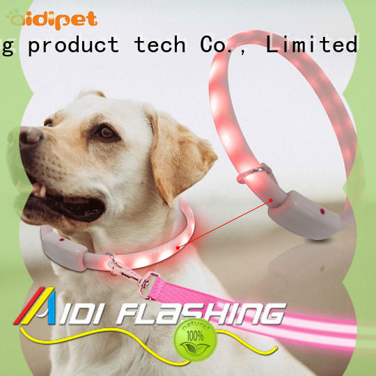 AIDI bluetooth light up dog collar uk with good price for outdoors