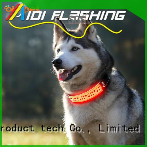flashing dog collars pets at home shining for park AIDI