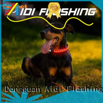 AIDI glowing small dog collar light for pet