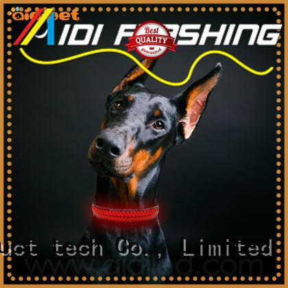 charms lightning dog collar bright AIDI