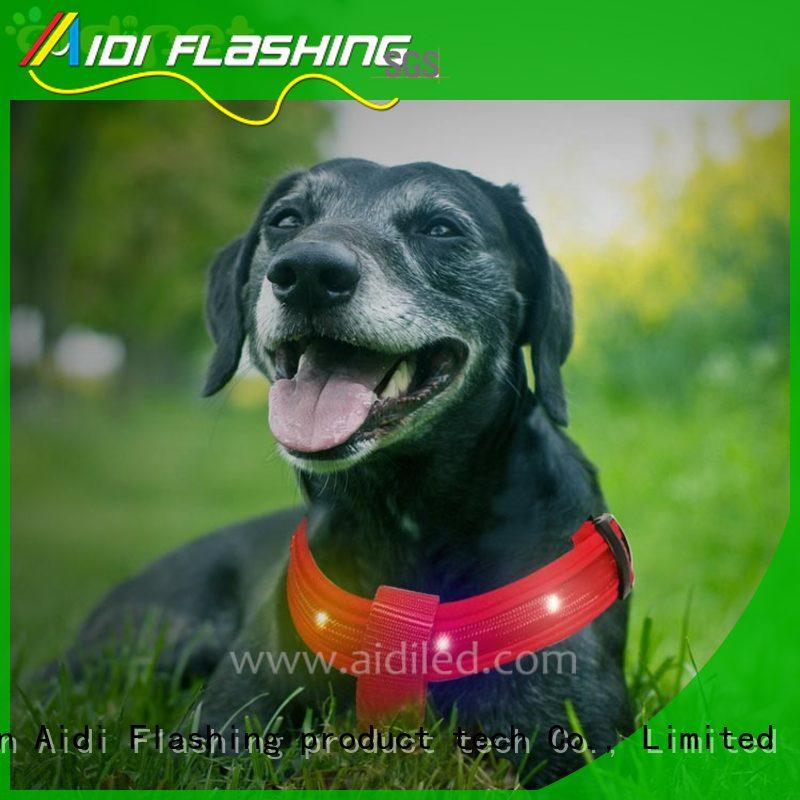 AIDI reflective dog e glow harness from China for park