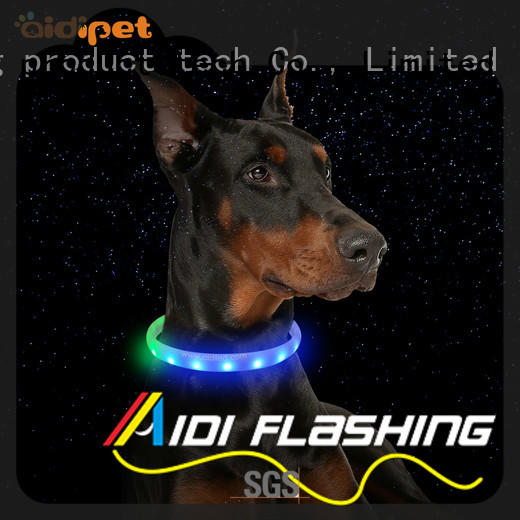 AIDI rechargeable led dog collar inquire now for pet