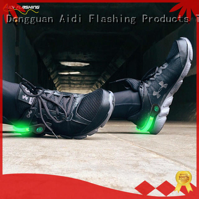 AIDI led shoe clip lights factory for adults