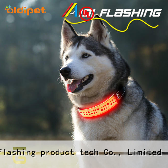 best light up dog collar for walking AIDI