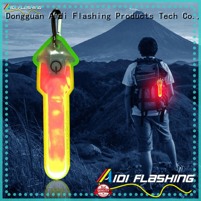 AIDI rechargeable best running lights wholesale for outdoors