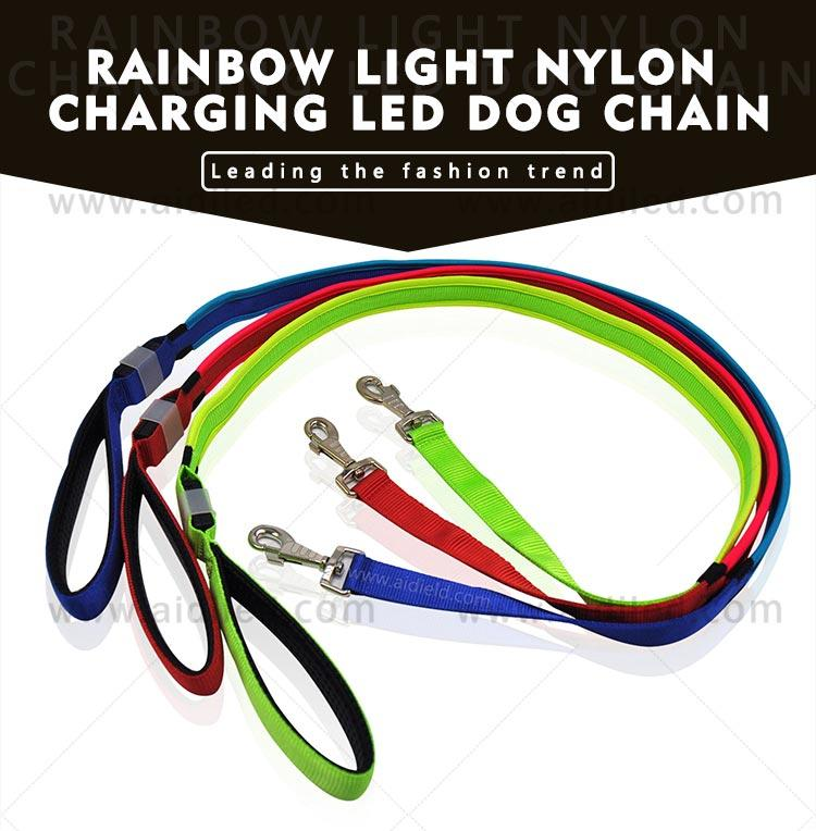 light up dog leash factory for pet-3