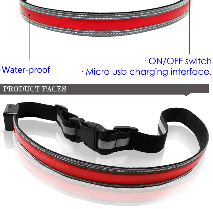AIDI-Best Fitness Waist Belt Led Outdoor Sport Waist Belt for Children-2