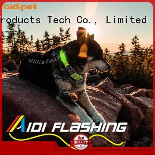 AIDI best led dog collar with good price for outdoors
