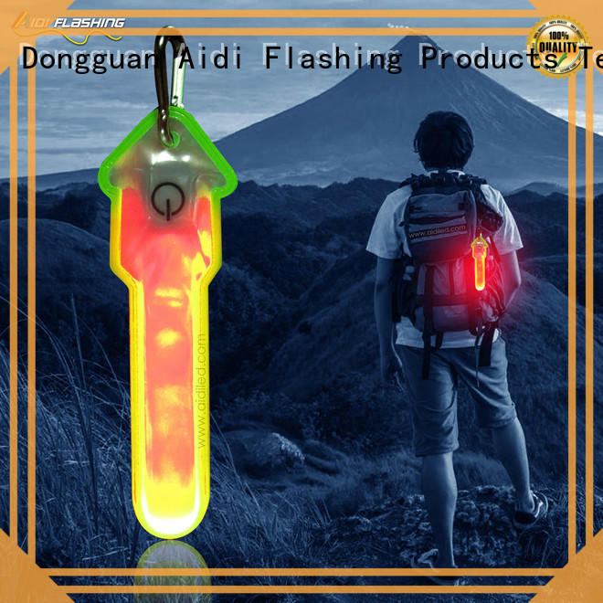 AIDI rechargeable safety lights for runners supplier for outdoors