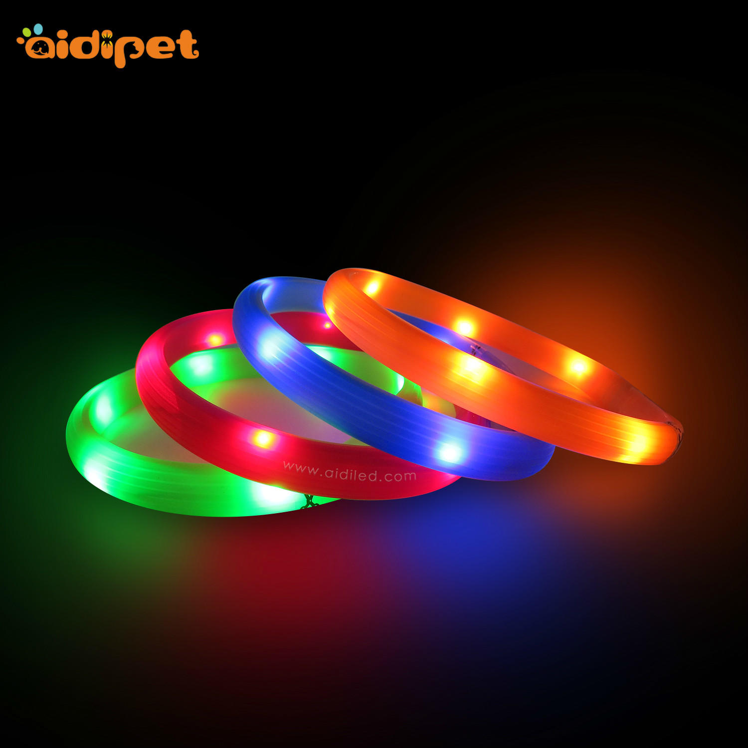 AIDI-Led Light Up Dog Collar Led Fashionable Dog Collar-1