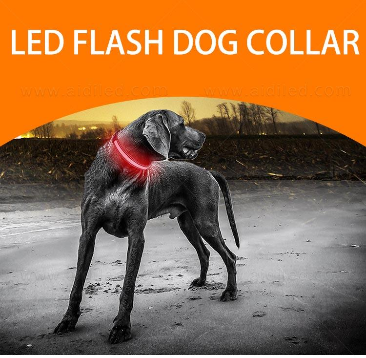 AIDI-Led Dog Collar Waterproof | Light Up Led Shining Dog Collar-2