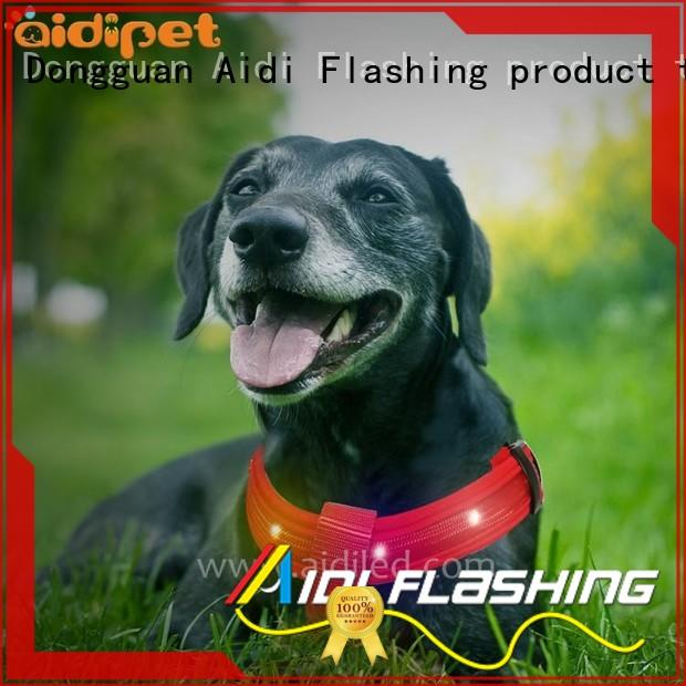flashing dog harness from China for pet AIDI