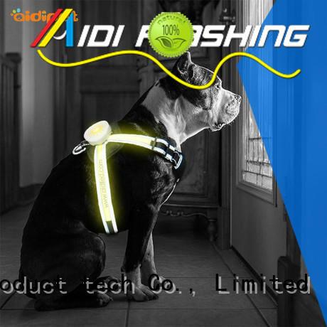 illuminated illuminated dog harness AIDI