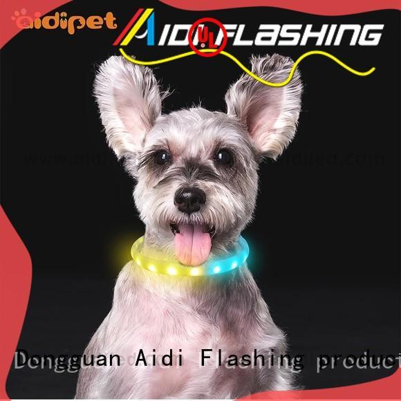 waterproof reflective dog collars design for pet