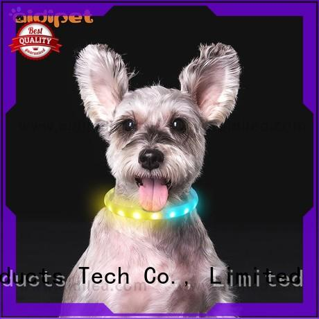 AIDI personalized reflective dog collars with good price for outdoors