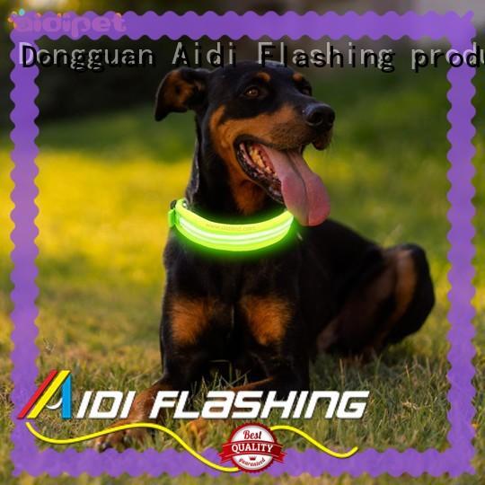 AIDI waterproof led christmas dog collar for pet