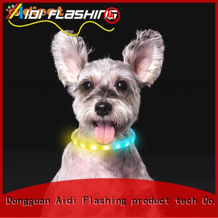 rechargeable small dog collar light inquire now for pet
