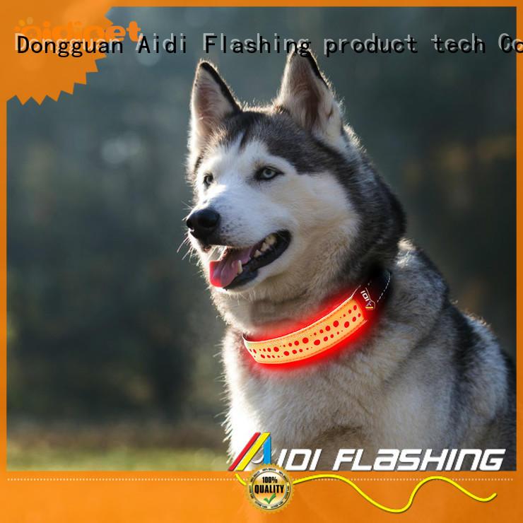 aidic25 rechargeable dog collar light