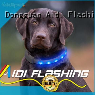 super dog collar with light attached bluetooth AIDI