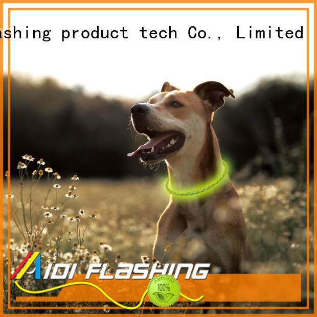 remote dog christmas collars with lights with good price for pet AIDI